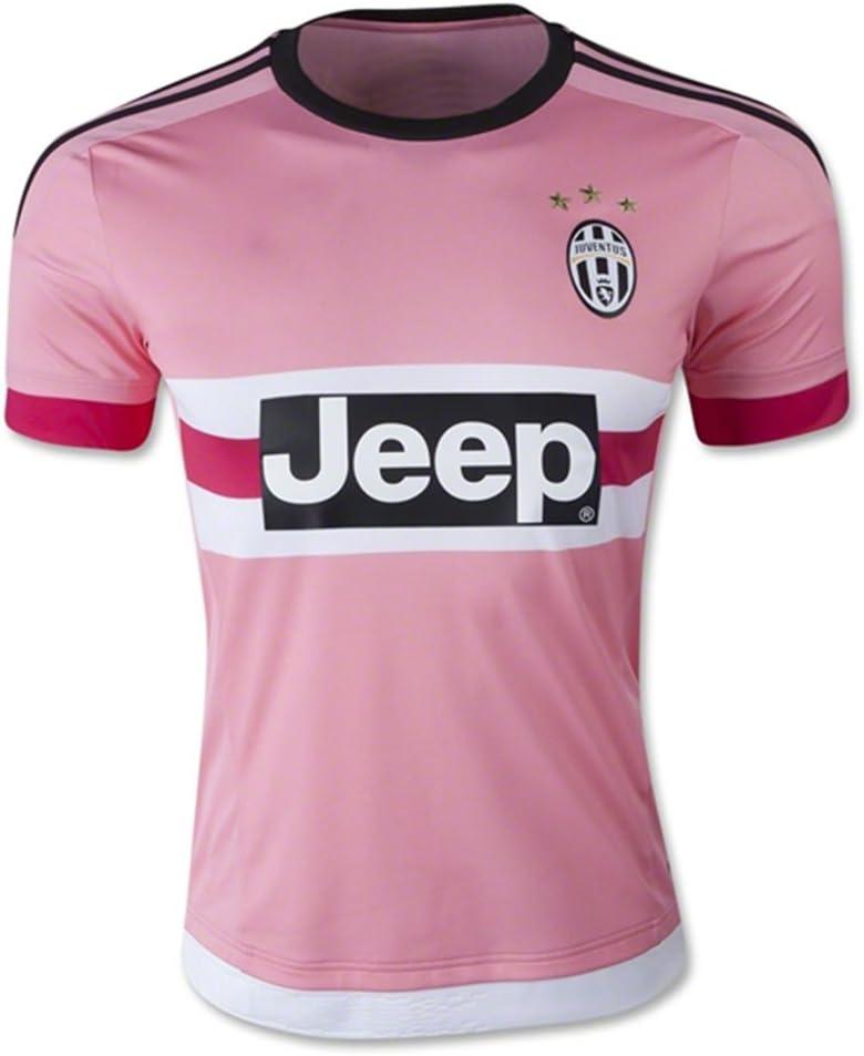 kk53gf 2016 juventus away soccer jersey pink diy name and number amazon co uk sports outdoors juventus away soccer jersey pink diy