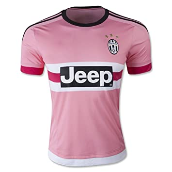 newest 87e83 1f5ca YGDHM Juventus Away Soccer Jersey Pink: Amazon.co.uk: Sports ...