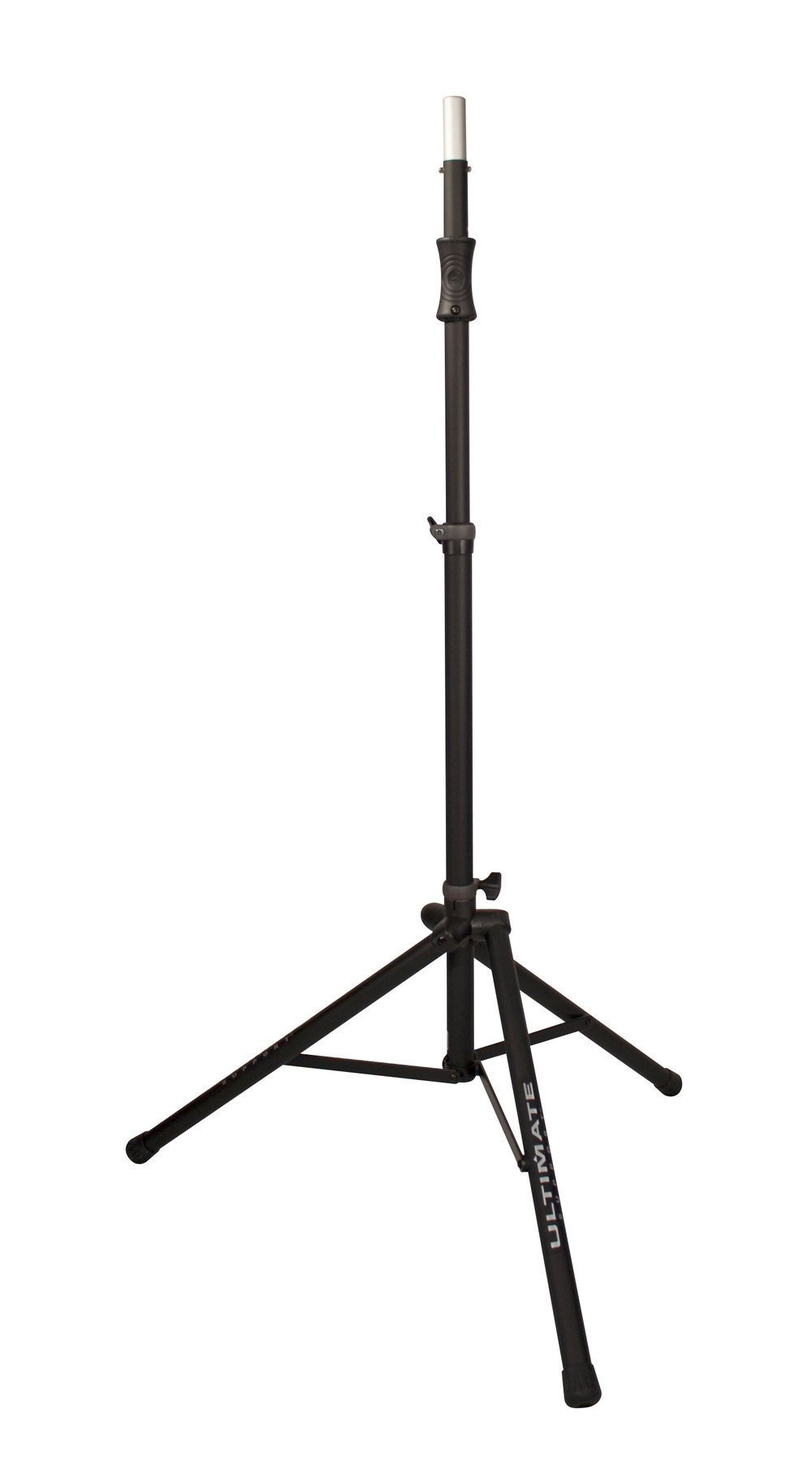 Ultimate Support TS-100B Air-Powered Series Lift-assist Aluminum Tripod Speaker Stand with Integrated Speaker Adapter by Ultimate Support