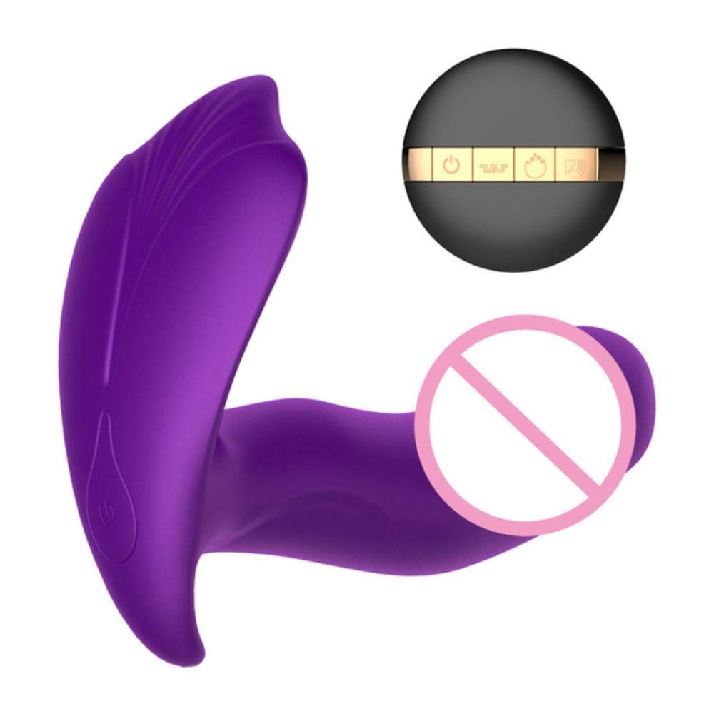 Barette Vibration Frequency Vibrator Prost-ate Massager Safe Silicone Medical Waterproof an-al Vibrator for Couple Massager#4,Purple,China
