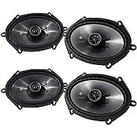 Kicker CS Series 6 x 8 Coaxial EVC 2 Way 450 Watt Speakers 43CSC684 (2 Pair)