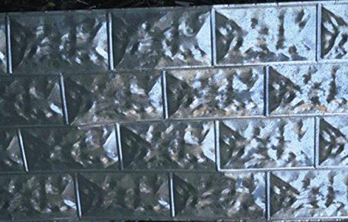 Behrens Brfs Galvanized Steel Trailer Skirt Panel, 60''x28'' (Pack of 10)