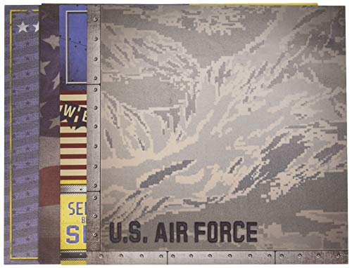 Paper House Productions KTSP-1016E United States Air Force Paper Crafting Kits (3 Pack)