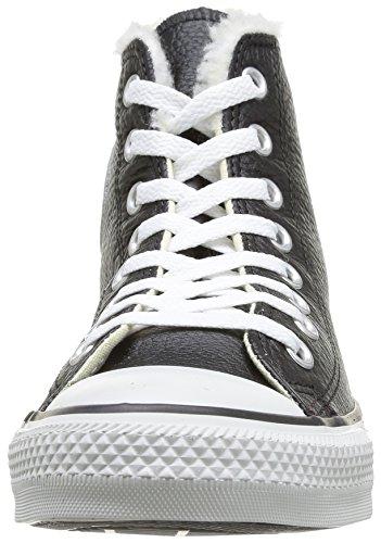 Noir Adulte Baskets Converse Noir All Taylor Mode Hi Chuck Mixte Shearling Star 8 pqvIp