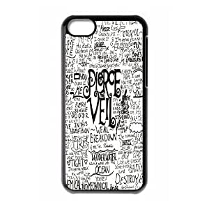 ZK-SXH - Pierce the veil Custom Case Cover for iPhone 5C,Pierce the veil DIY Case