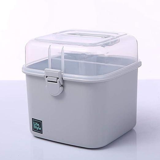 Caja De Plástico De Medicina Doméstica Caja De Medicina Pequeña ...