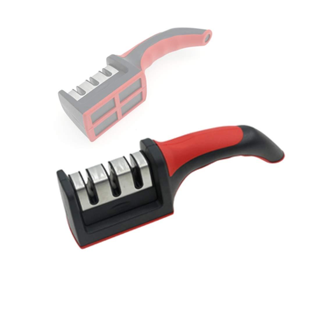 Samno - Afilador de cuchillos (3 etapas, cerámica ...