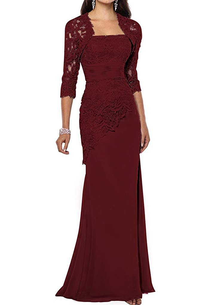 ThaliaDress Women's Mother of Bride Dress Formal Gown with Jackets T263LF