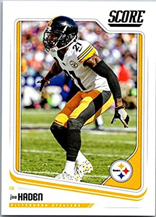 super popular 044c1 39596 Amazon.com: Football NFL 2018 Score #272 Joe Haden #272 EX ...