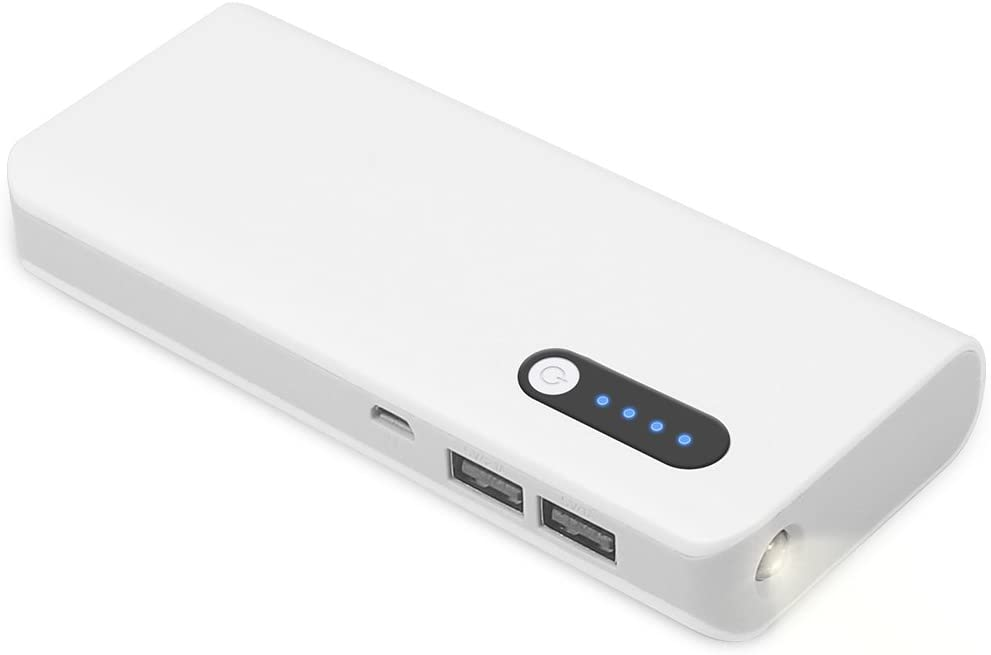 SOLICE High Capacity 16800mah External Battery Power Bank Portable Charger Backup Pack with LED Light Dual USB for iPhone & ipad Samsung Galaxy and More
