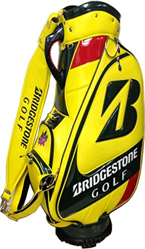Bridgestone Bolsa de Golf Staff US Master, Yellow/Green, 48 ...