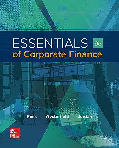 Corporate Finance: Cheapest Copy Of Essentials Of Corporate Finance (Mcgraw