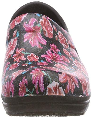 Zoccoli Pro Ii Crocs Neria Women floral Clog black Donna Graphic Nero wxYTHqT