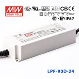 Meanwell LPF-90D-24 Power Supply - 90W 3.75A - Dimmable