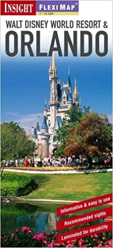 Fleximap Walt Disney World Resort and Orlando (Fleximaps): Insight ...