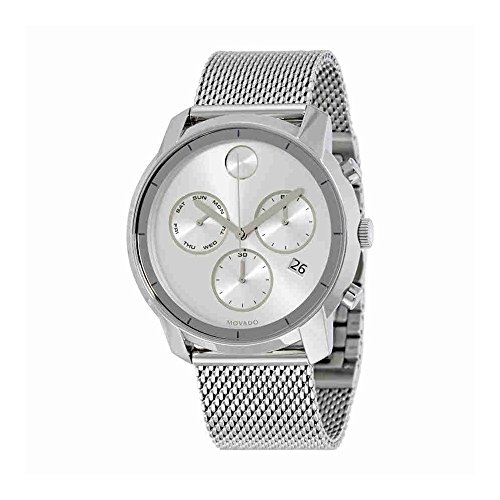 Swiss Movado Quartz - Movado Men's Swiss Quartz Stainless Steel Watch, Color Silver-Toned (Model: 3600371)