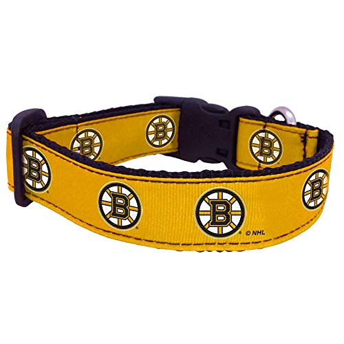 All Star Dogs Boston Bruins Pet Collar, Small