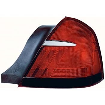 Amazon Com Mercury Grand Marquis Tail Light Left Driver