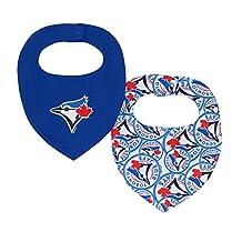 MLB Toronto Blue Jays 2-Piece Bandana Bib Set (0-12 Months)
