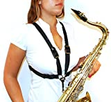 BG S41M Woman\'s Harness for Alto and Tenor and Baritone Saxophones with Metal Hook