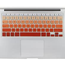 """All-inside Orange Ombre Color Keyboard Skin for MacBook Pro 13"""" 15"""" 17"""" (with or without Retina Display) / MacBoook Air 13"""""""