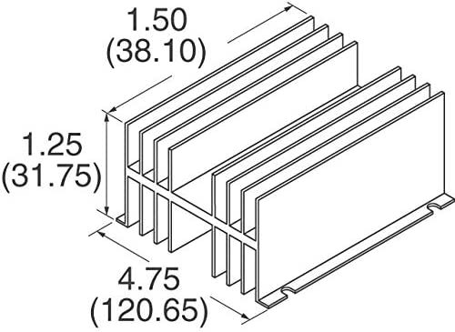 401A Pack of 1 HEATSINK POWER TO-3 BLK