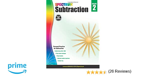 Subtraction, Grade 2 (Spectrum): Spectrum, Carson-Dellosa ...