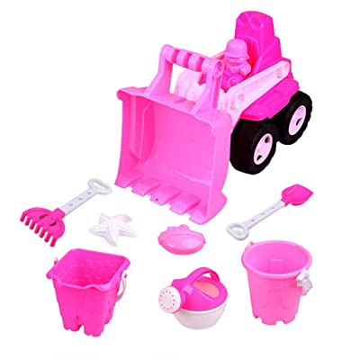 Makkalen Beach Toy Beach Models Set Outdoor Sand Toy Set Beach Toy Set for Kids: Home & Kitchen