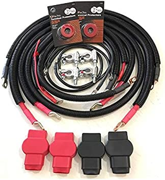 Amazon.com: Battery Cables for Dodge Ram 2500/3500 2007-2009 Gen 3.5 with  6.7L Cummins pn 792: Automotive | Battery Terminal Wiring Harness 2007 |  | Amazon.com