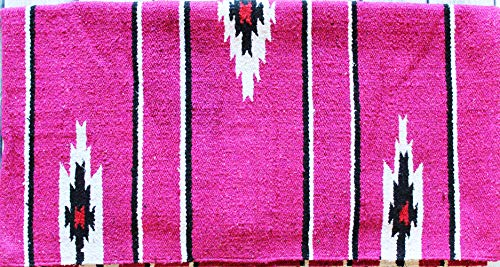 CHALLENGER Horse Cotton Acrylic Western Show Trail Saddle Blanket Navajo 30