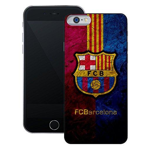 FC Barcelona | Handgefertigt beim Case Creatives | iPhone 6 6s (4,7') | Schwarze Hülle
