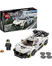 LEGO 76900 Speed Champions Koenigsegg Jesko racerbil, leksaksbil, modellbil för att bygga själv