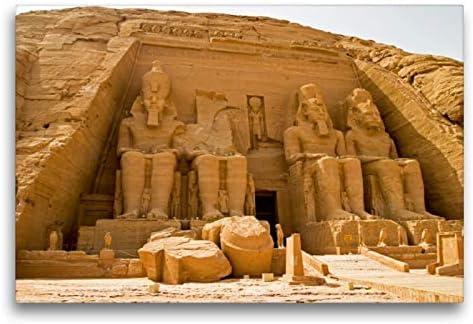 CALVENDO Lienzo de 75 cm x 50 cm Horizontal, diseño de Egipto con ...