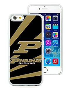 Ncaa Big Ten Conference Football Purdue Boilermakers 1 White Fantastic Design iPhone 6 4.7 Inch Silicone TPU Cover Case