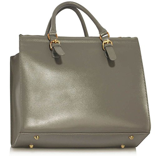 Xardi London - Bolso de hombro mujer Grey Style 2