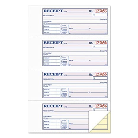 photograph regarding Printable Receipt Book titled : Ultimate46816 - TOPS Funds/Hire Receipt Guide