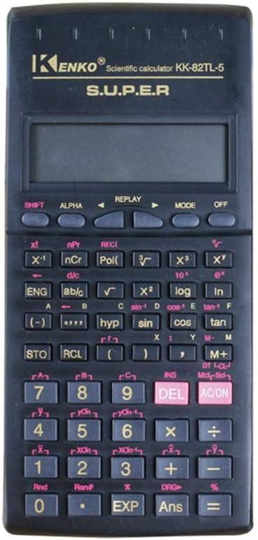 電卓 学校工学会計のための2ライン多機能科学計算機 事務用品 (色 : Photo Color, サイズ : ワンサイズ)
