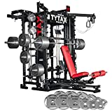 TYTAX T1-X Best Home Gym Machine - New Year's Weight Bundle - 335lbs
