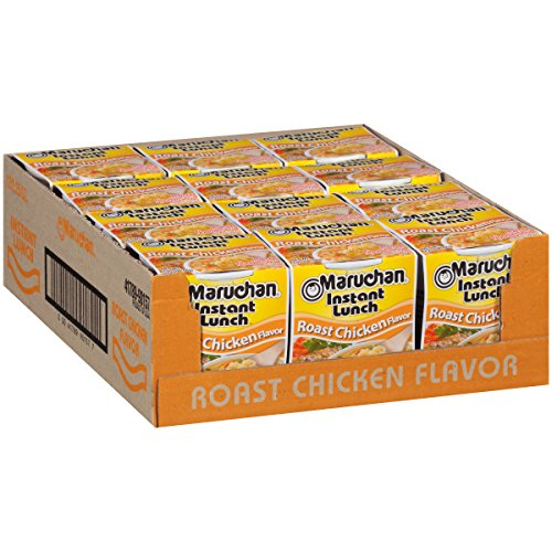 (Maruchan Instant Lunch Roast Chicken Flavor, 2.25 Oz, Pack of 12)