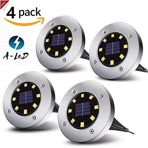 Solar Path Lights With Panel in Florida - 7