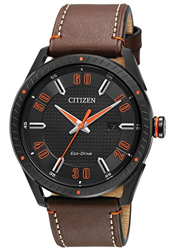 Citizen Eco Drive Leather Strap Watch