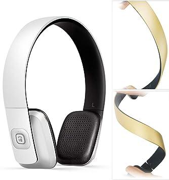 VISZC - Auriculares inalámbricos para Videojuegos, Altavoz, Altavoz, Controladores, Bluetooth, Cabezal portátil, Calidad de Audio HD, Bluetooth, rotación de 90°, no se deforma: Amazon.es: Electrónica