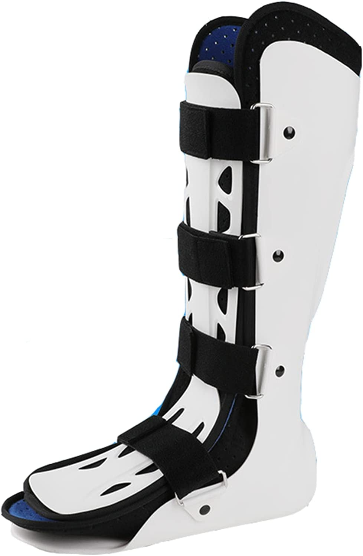 WSXKA Ortesis de rehabilitación para Fractura de Tobillo y pie, Protector de fijación de Pierna para Adultos