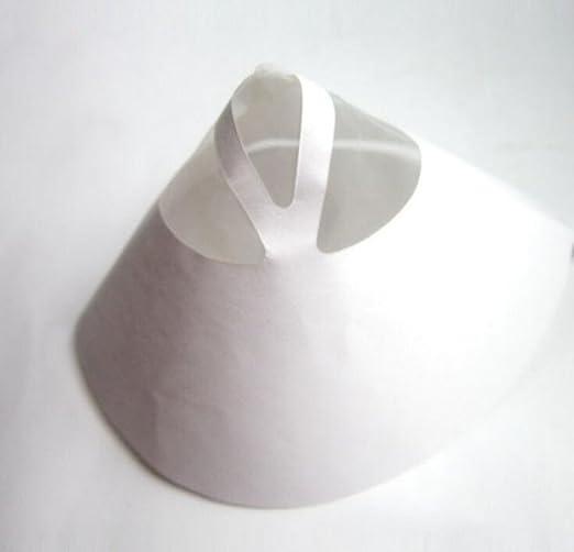 Dealglad Pack de 100 filtros de papel (125 micras) Filtro de tamiz ...