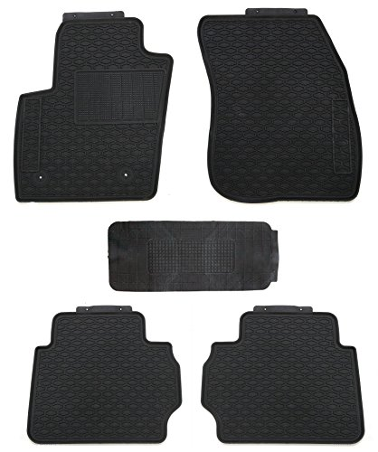 (TMB Motorsports All Weather Floor Mats for Ford Fusion 2013-2018)