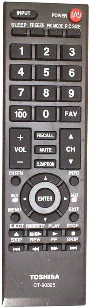 Toshiba CT-90325 REMOTE CONTROL for 19C100U