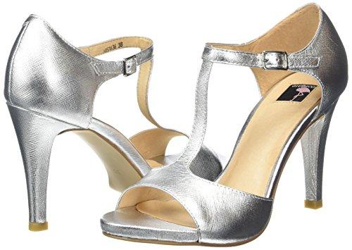 sb7 Sandali Donna Jycx1323 Giudecca argento Argento silver EqZ5twT