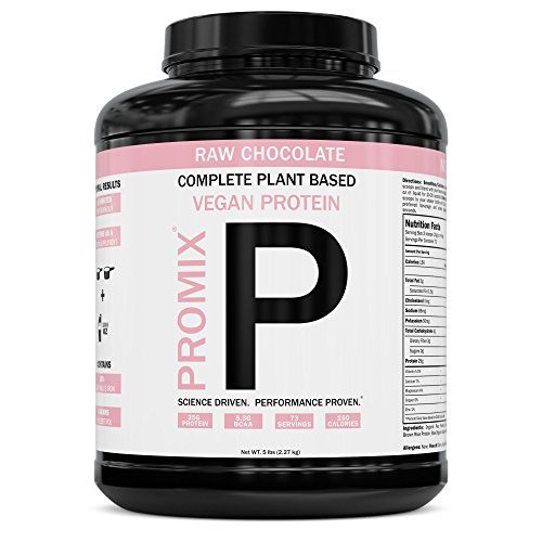 ProMix Nutrition Chocolate Vegan Plant Based Protein Powder, 5 Pounds