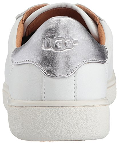 Milo Lace Ugg Trainer Up Black Leather White Women's gOSxA