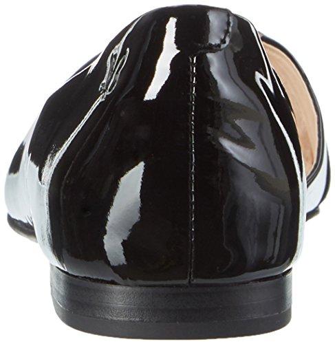 Caprice 22110, Sandali con Zeppa Donna, Nero (Black Patent), 38 EU